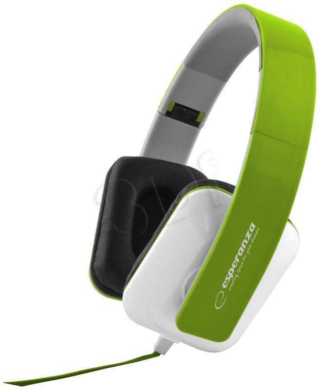 ESPERANZA Audio Stereo Headphones with volume control EH137G   3m austiņas