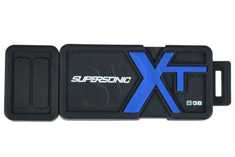 Patriot USB Drive 8GB Supersonic Boost USB 3.0 Speed-90MBS USB Flash atmiņa