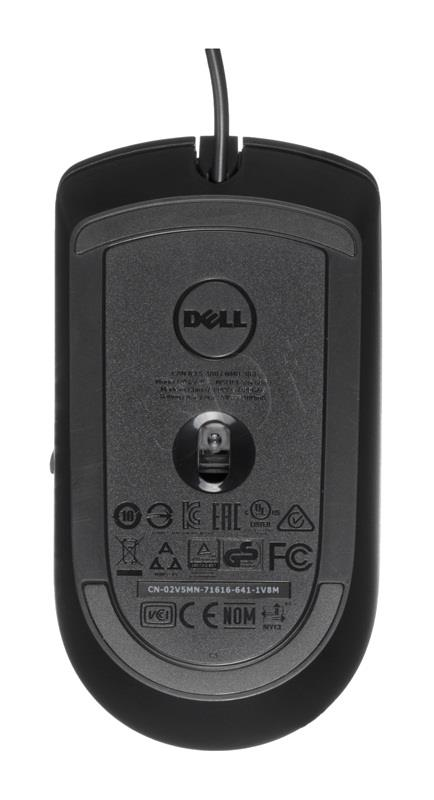 DELL Optical Mouse-MS116 - Black Datora pele