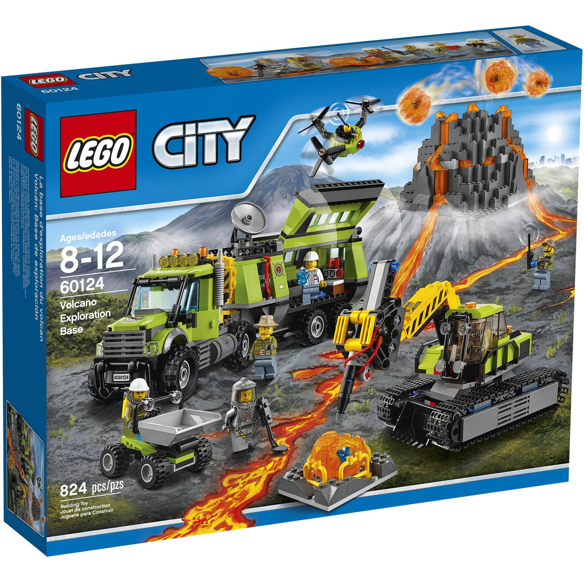 LEGO Volcano Exploration Base V29  60124 LEGO konstruktors