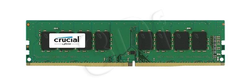 Crucial 8GB DDR4-2400 UDIMM, NON-ECC, CL17, 1.2V operatīvā atmiņa