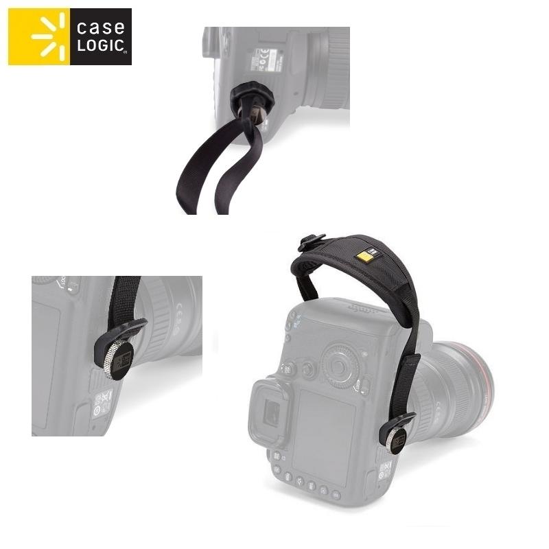 Case Logic DHS101 roku siksna spoguļfotokamer m Melna soma foto, video aksesuāriem