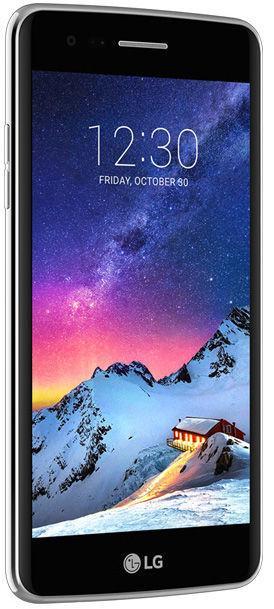 LG K8 2017 Dual Sim Titan Mobilais Telefons