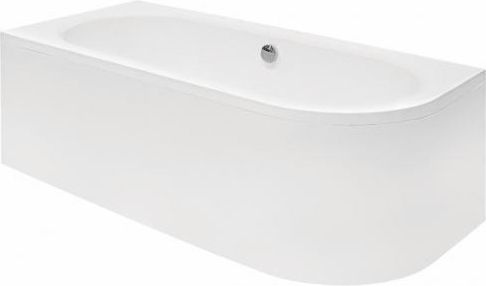 Wanna Besco Avita narozna asymetryczna lewa 150 x 75cm  (WAV-150-NL) WAV-150-NL