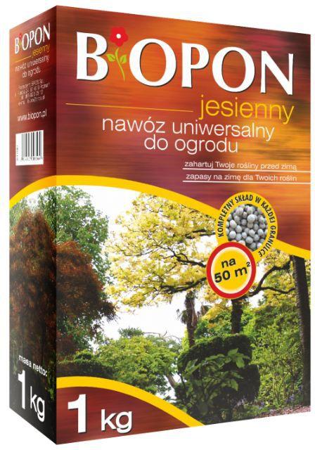 BIOPON Nawoz jesienny uniwersalny karton 1kg (1076) BR BIO-1076