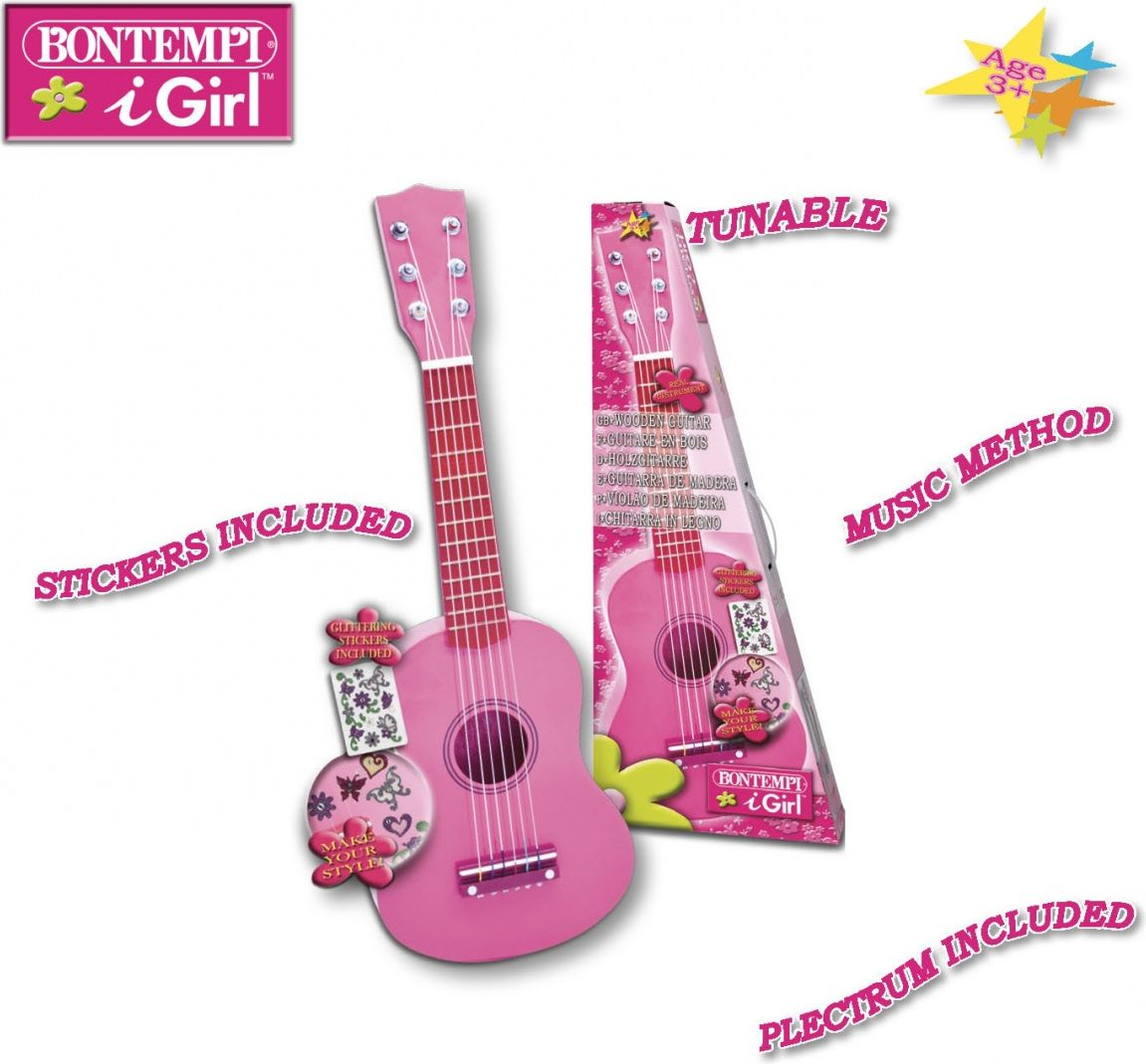 Bontempi Bontempi play drewniana gitara DANT2425