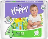 Bella Pieluszki Happy Maxi 8-18kg  12szt 5900516600372