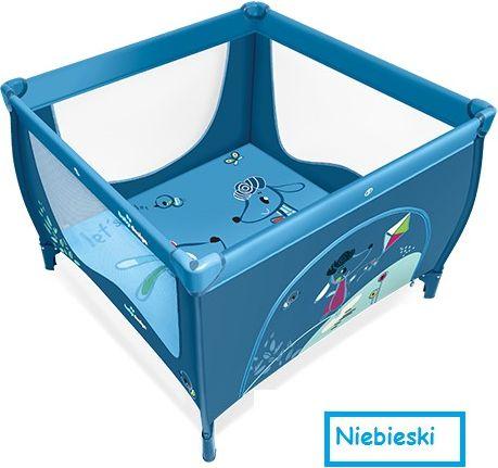 Baby Design KKojec Play Up 16 + uchwyty niebieski (290787) 4912135