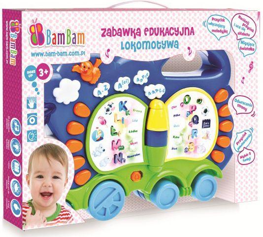 Zabawka edukacyjna lokomotywa bērnu rotaļlieta