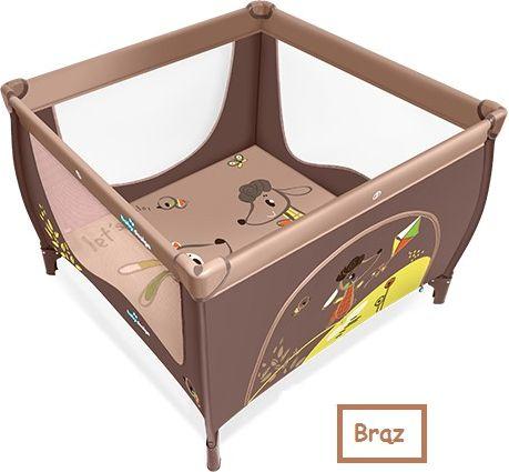 Baby Design Kojec Play Up 16 + uchwyty brazowy (290817) 4912137