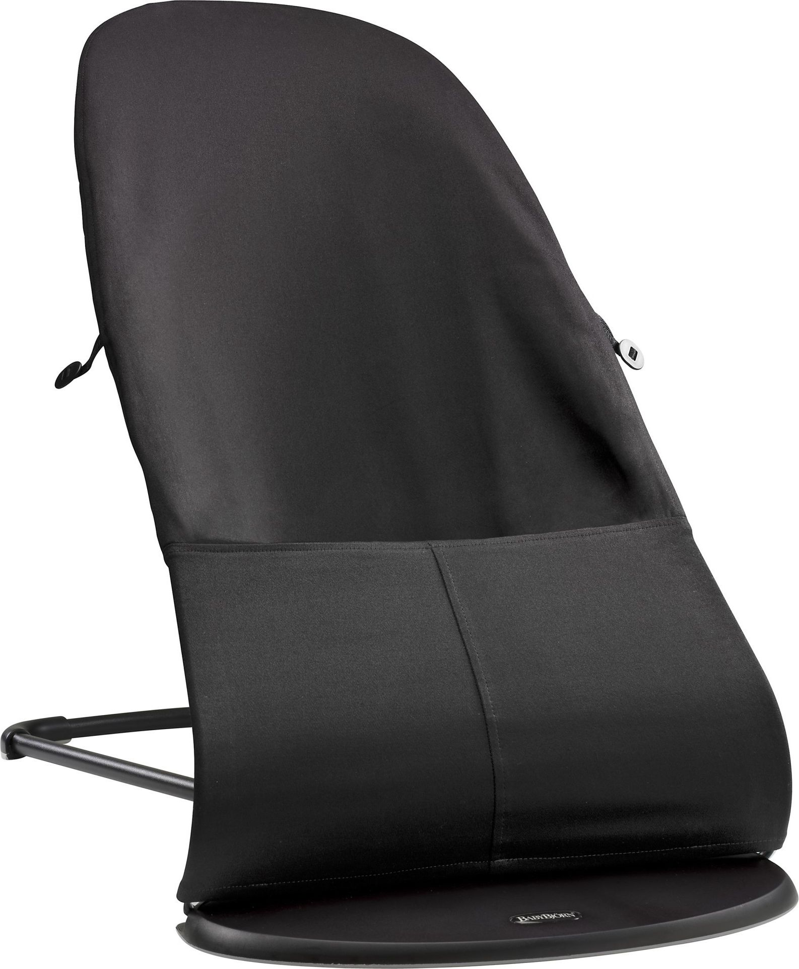 BABYBJORN Bouncer Balance Soft Black/Darkgrey šūpuļkrēsls