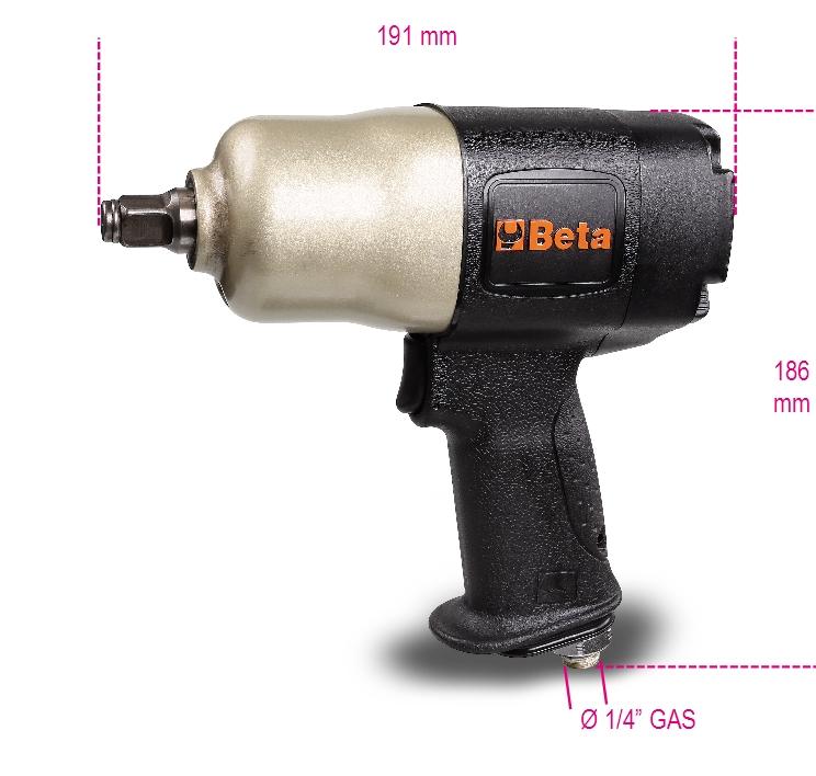 BETA Klucz udarowy pneumatyczny dwukierunkowy 1020Nm - 1927CD 1927CD