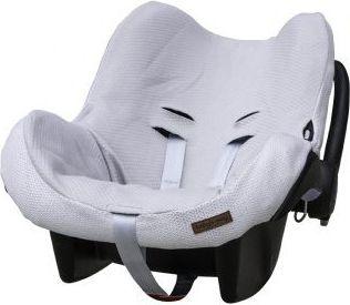 Babys Only Ochraniacz na fotelik samochodowy 0+, Srebrnoszary (BSO0205502) BSO0205502 Bērnu sēdeklīšu aksesuāri