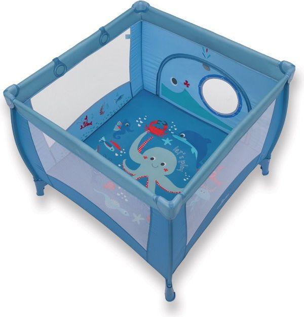 Baby Design Kojec Play Up 2018 + uchwyty niebieski  (299933) 4912141