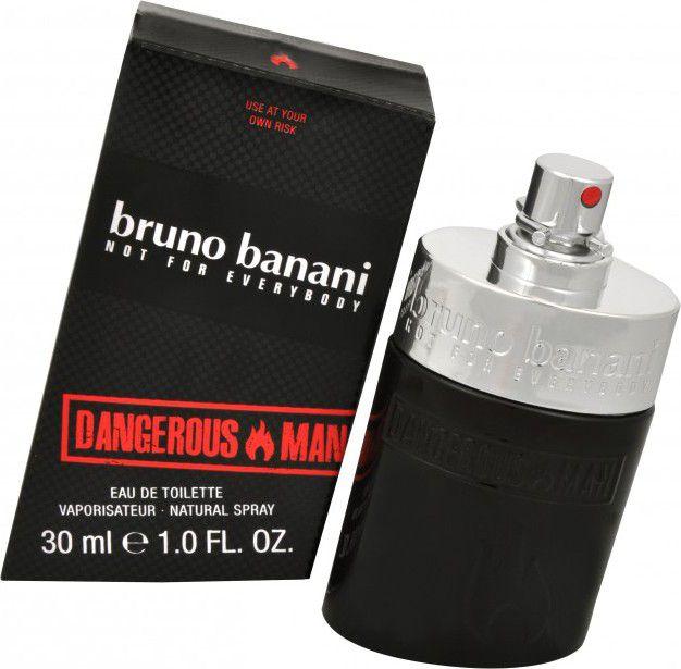 Bruno Banani Dangerous Man EDT 30ml 82465540 Vīriešu Smaržas