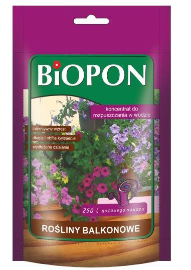 BIOPON Nawoz rozpuszczalny do roslin balkonowych 250g (247) B247