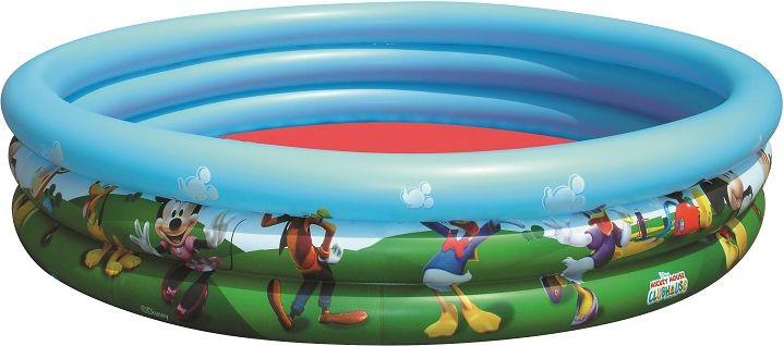 Bestway Basen dmuchany Myszka Miki i Przyjaciele niebiesko-zielony 122x25 cm (91007) 4137263