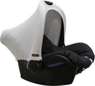 Babys Only Daszek wymienny na fotelik samochodowy 0+, srebrnoszary (BSO0205602) BSO0205602 Bērnu sēdeklīšu aksesuāri