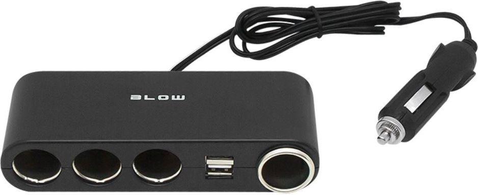 Blow Splitter cigarette lighter 1xWT/4XGN CS-42 auto audio aksesuārs