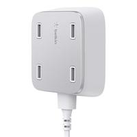 BELKIN Family rockstar 4-Port USB charge iekārtas lādētājs
