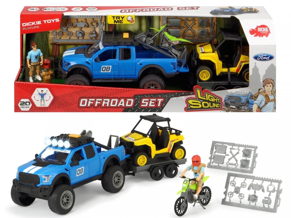 Dickie Vehicle Play Life Off-road Adventure Rotaļu auto un modeļi