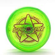 YoYoFactory YO-YO SPINSTRAR iesācējiem/ar iemaņām, zaļš YO 443