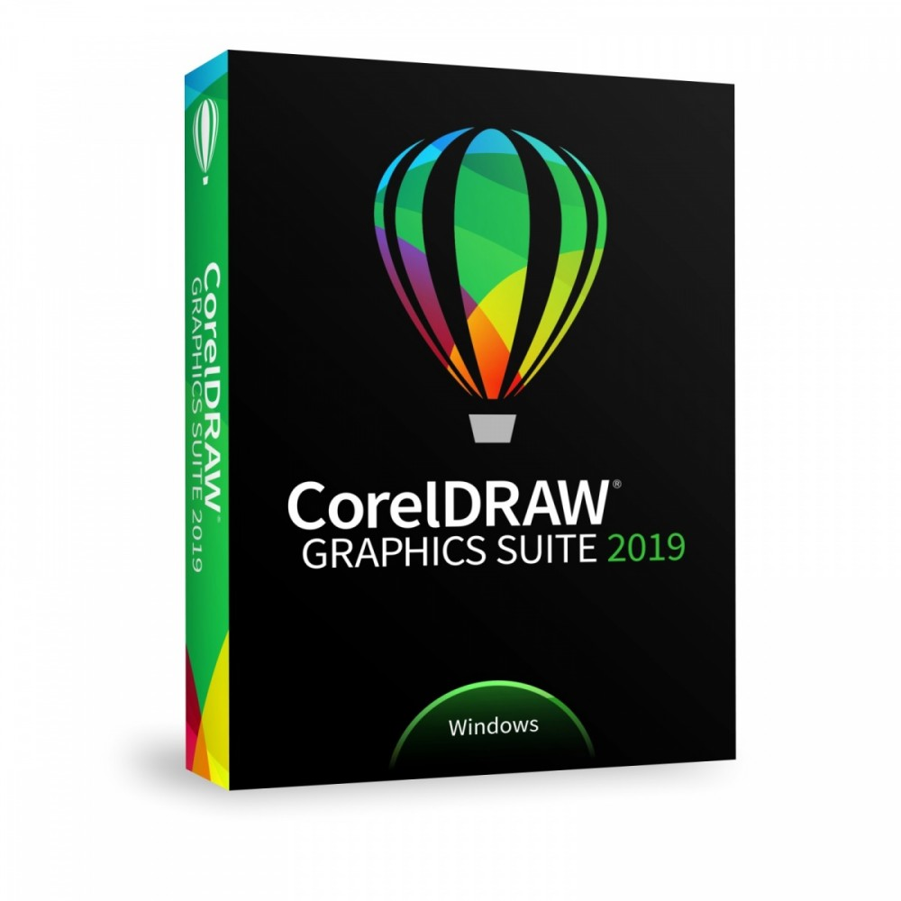 CorelDRAW GS 2019 PL/CZ Box UPG CDGS2019CZPLDPUG