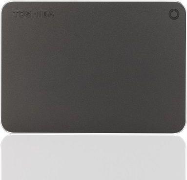 Toshiba 6.3cm   2TB USB3.0 Canvio Premium Mac dark grey extern retail Ārējais cietais disks