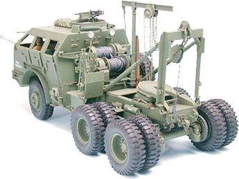 TAMIYA M26 Armored Tank Recovery Vehicle bērnu rotaļlieta