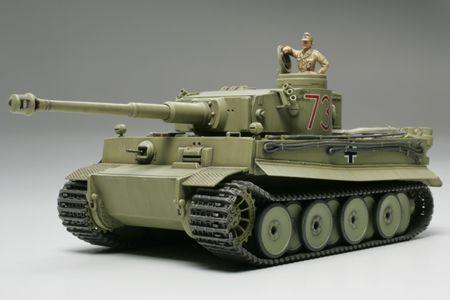 TAMIYA Tiger I German Tiger I Initial bērnu rotaļlieta