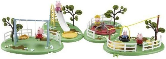 PEPPA Plac zabaw z figurk¹ bērnu rotaļlieta