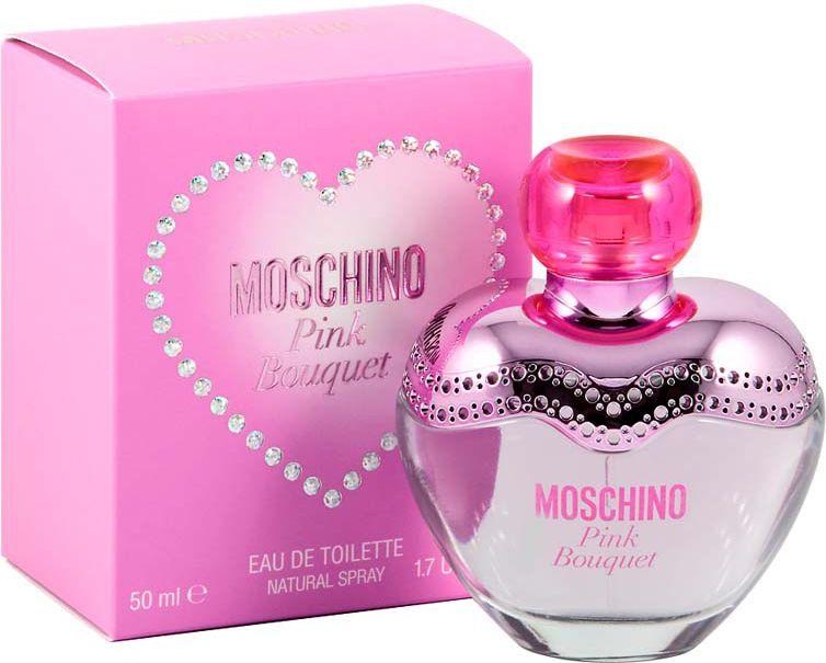 MOSCHINO Pink Bouquet EDT 50ml Smaržas sievietēm