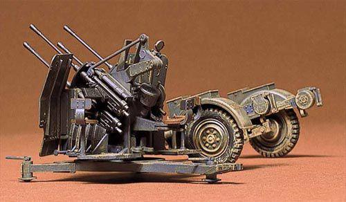 German 2cm Flakvierling 38 bērnu rotaļlieta