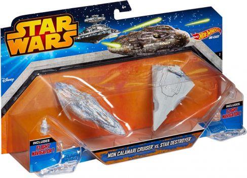HW SW Space ship 2-pack Ast. bērnu rotaļlieta