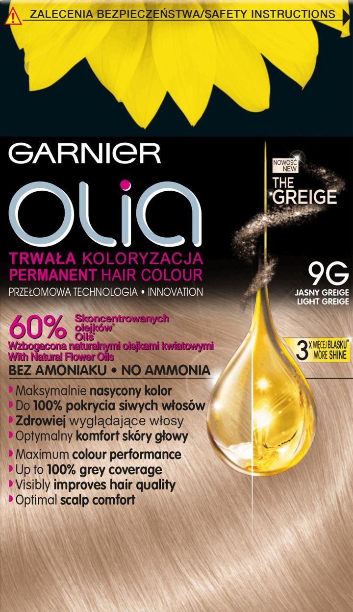 Garnier Olia farba do wlosow nr  9 G Light Greige 0358968
