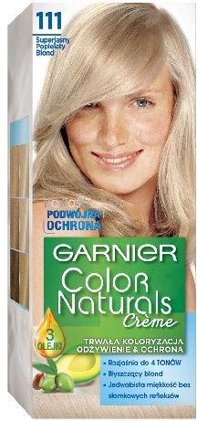 Garnier Color Naturals Krem koloryzujacy nr 111 Superjasny Popielaty Blond 0305420