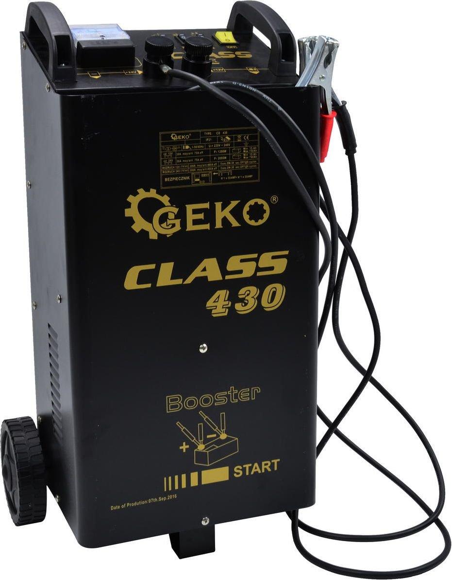 GEKO #Urz. rozruchowo-prostownikowe CLASS 430 LCD (1) 4829391 auto akumulatoru lādētājs
