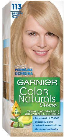 Garnier Color Naturals Krem koloryzujacy nr 113 Superjasny Bezowy Blond 0305424