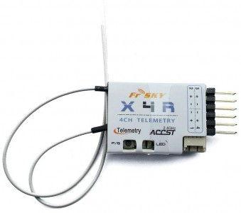 FrSky Odbiornik X4R 4 2.4GHz - telemetria (FR/03022412) FR/03022412