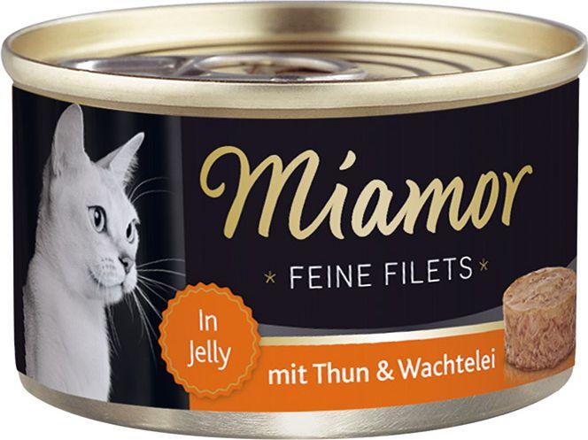 FINNERN Miamor Feine Filets puszka Tynczyk i jajka - 100g 74037 kaķu barība