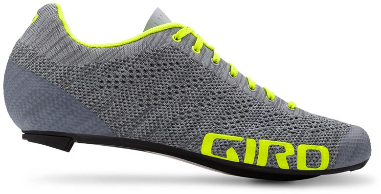 GIRO Buty meskie EMPIRE E70 KNIT grey heather highlight yellow r. 42.5 GR-7090076