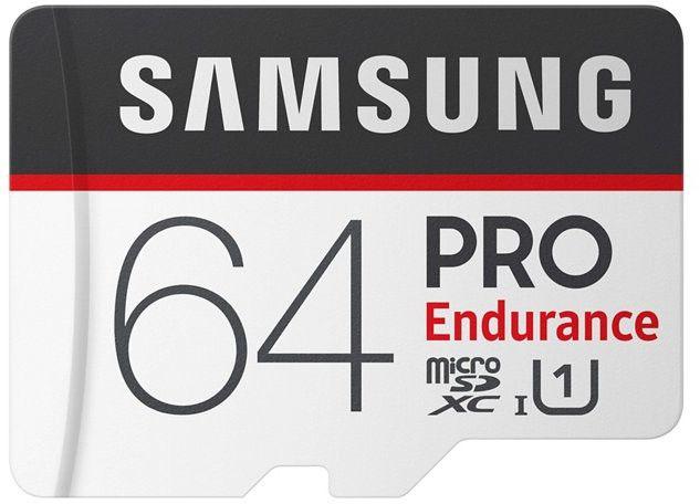 Samsung microSDHC Pro Endurance 64GB MB-MJ64GA/EU atmiņas karte