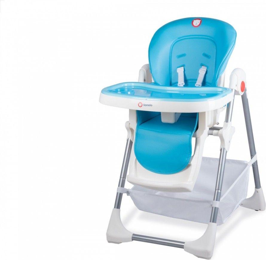 Lionelo High chair for feeding Linn Plus Tourquise (53307) bērnu barošanas krēsls
