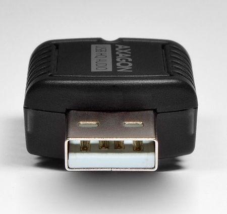 Karta dzwiekowa KOUWELL AXAGON ADA-17, USB2.0 - stereo HQ audio MINI adapter 24bit 96kHz - ADA-17 ADA-17 skaņas karte