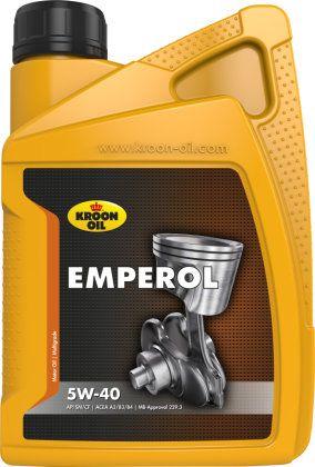 Olej silnikowy Kroon Oil Alyva KROON-OIL 5W-40 Emperol, 1L 5030309 motoreļļa