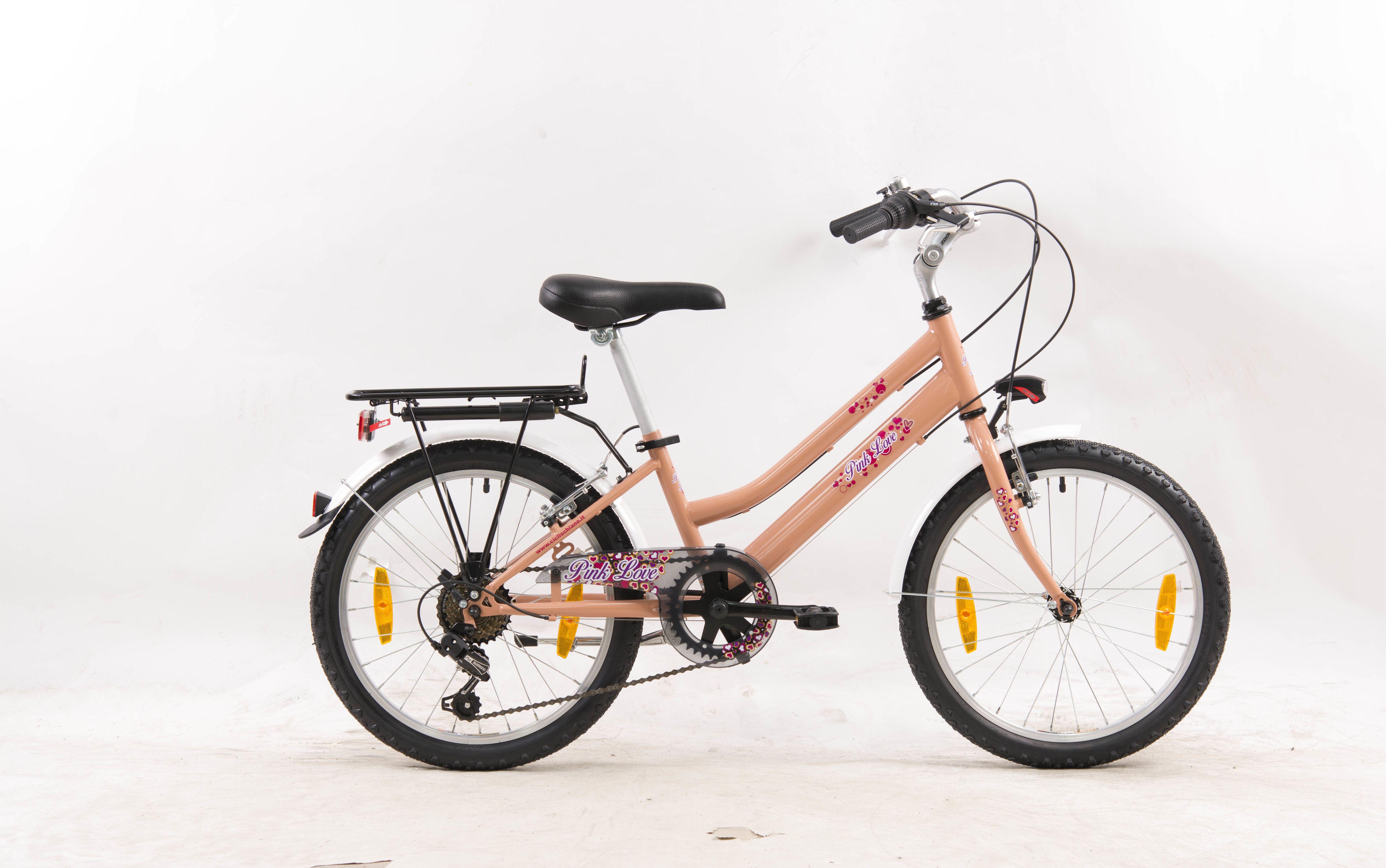Leader Vaikiskas dviratis Leader Lady Voyager 20