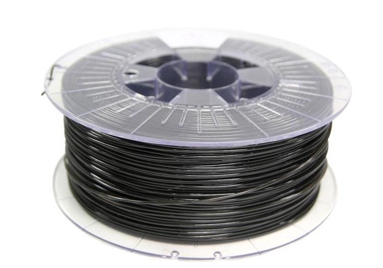 Filament SPECTRUM / PETG / DEEP BLACK / 1,75 mm / 1 kg 3D printēšanas materiāls