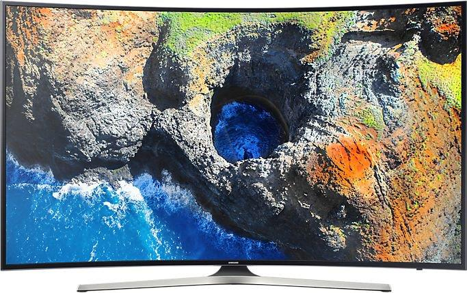 SAMSUNG 4K Curved, Smart, 55
