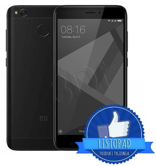 Xiaomi Redmi 4x 32GB 5,0 black Mobilais Telefons