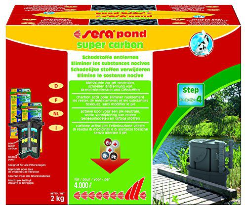 Sera SERA ink SUPER CARBON POND 2KG - VAT005601